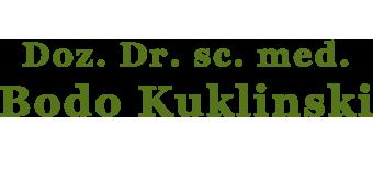 Dr. Bodo Kuklinski
